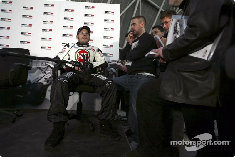 Interview for Jacques Villeneuve