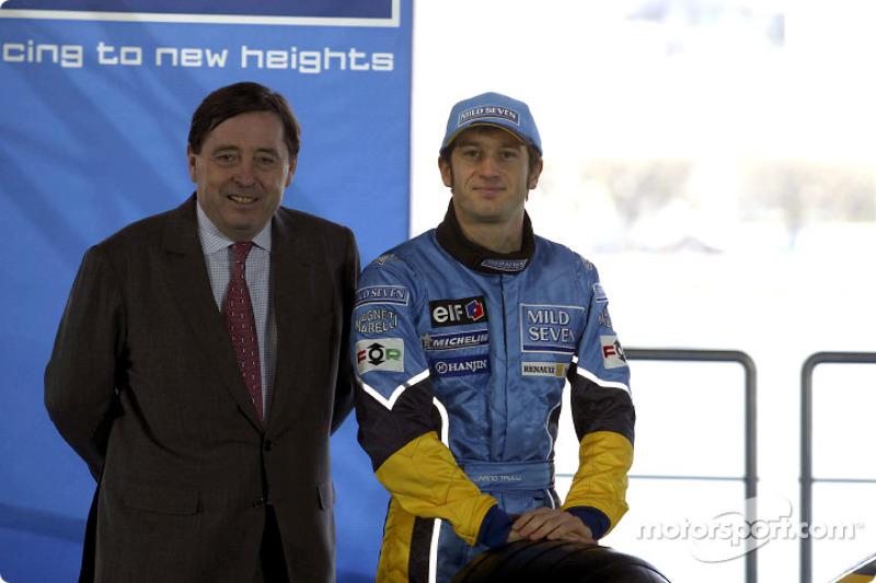 Patrick Faure y Jarno Trulli