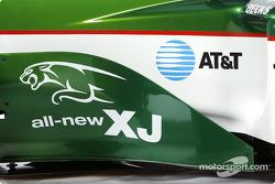 Detail of the new Jaguar R4