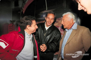 From the past: Jean Todt, Gerhard Berger and Gianni Agnelli