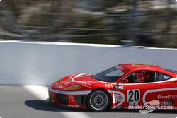 #20 JMB Racing USA Team Ferrari Ferrari 360GT: Augusto Farfus, Max Papis, Andrea Garbagnati, Emmanuel Collard