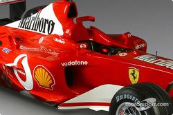 Detail of the new Ferrari F2003-GA
