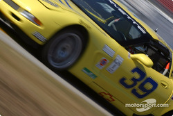 #39 Silverstone Racing Services Corvette: Chris Hall, Larry Huang