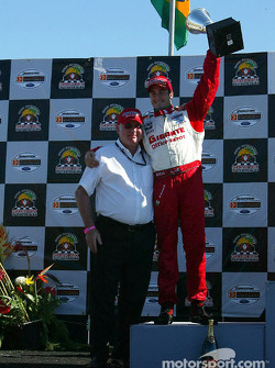 The podium: Michel Jourdain Jr.