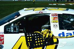 Ken Schrader's car on the grid