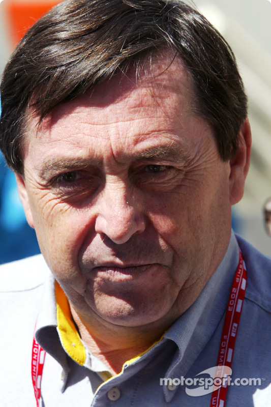 Renault F1 Executive Vice President Patrick Faure
