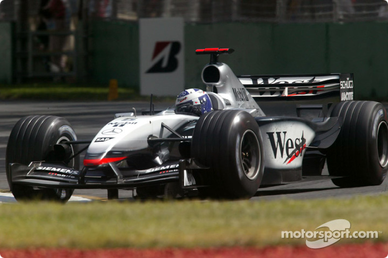 2003: David Coulthard, McLaren-Mercedes MP4-18