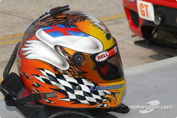 Terry Borcheller's helmet