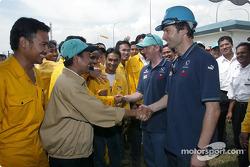 Visit, Petronas Fertilizer plan: Heinz-Harald Frentzen ve Nick Heidfeld