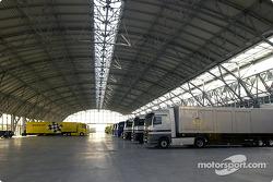 Der Zuschauerbereich am Adria Raceway