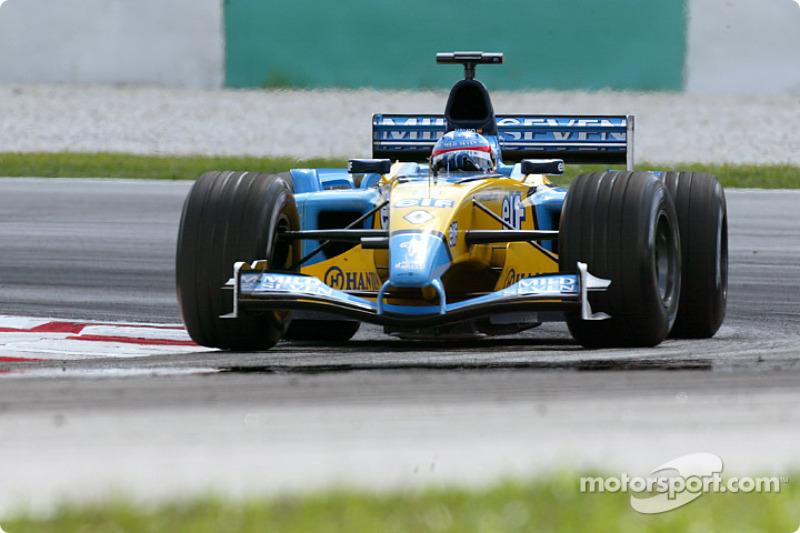 6. Фернандо Алонсо – третье место на Гран При Малайзии 2003 года