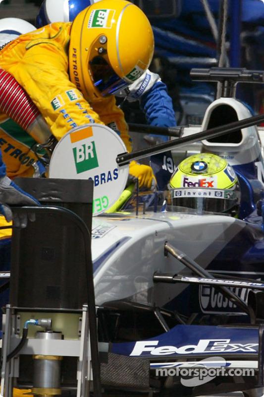 Arrêt au stand pour Ralf Schumacher