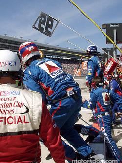Jeff Burton pit crew ready for action