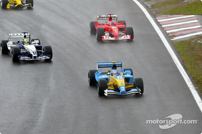 Jarno Trulli, Ralf Schumacher ve Michael Schumacher