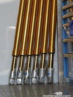 Ohlins front forks