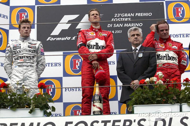 2003. Сан-Маріно. Міхаель Шумахер, Ferrari F2003 GA