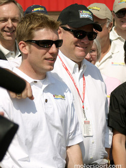 Jamie McMurray and Chip Ganassi
