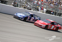 Rusty Wallace y Bill Elliott