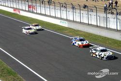 A group of Porsche 911 GT3 RS