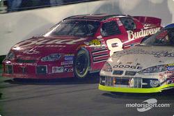 Dale Earnhardt Jr. and Ken Schrader