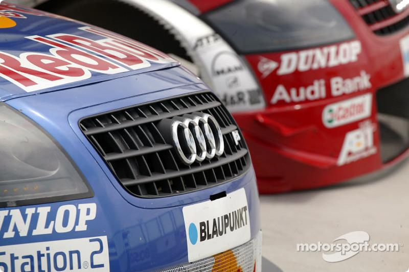 Detail of the Abt-Audi TT-R