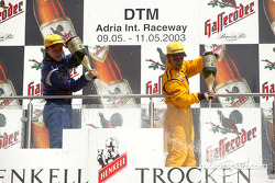 Podium: Mattias Ekström, Abt Sportsline, Abt-Audi TT-R 2003; Laurent Aiello, Abt Sportsline, Abt-Audi TT-R 2003