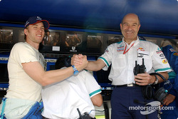 Nick Heidfeld and Peter Sauber
