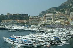 Beautiful port of Monaco