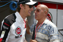 Jenson Button y Stirling Moss