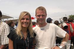 Jan Magnussen and Christina