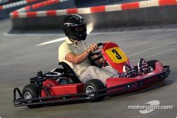 Día de karting en la pista de Schumacher en Kerpen.
