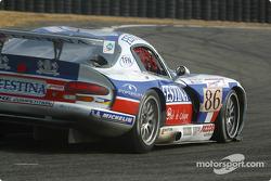 #86 Larbre Competition Chrysler Viper GTSR: Christophe Bouchut, Patrice Goueslard