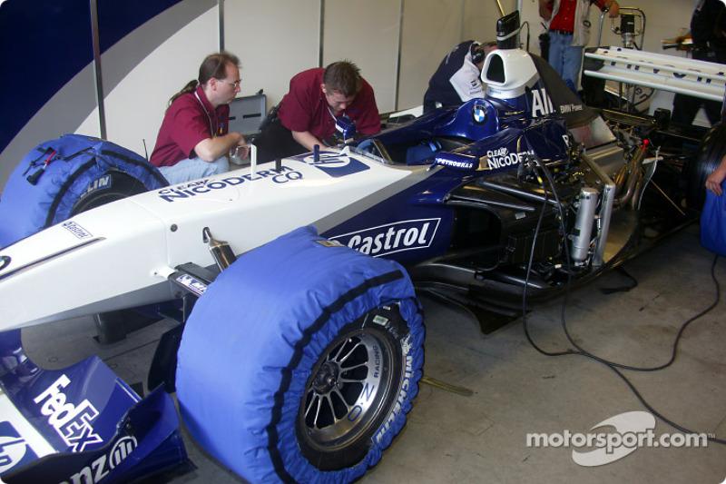 HP Williams-BMW FW24