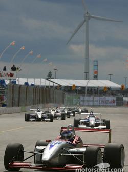 Pace lap: Alex Figge