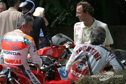 Mick Doohan and Giacomo Agostini