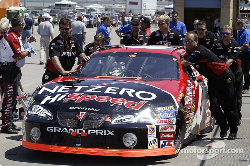 Jack Sprague's car