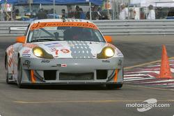 la Porsche 911 GT3 RS n°79 de l'équipe J-3 Racing, Inc. pilotée par Justin Jackson, David Murry