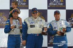 LMP675 podium: best private for #56 Team Bucknum Racing Pilbeam MP91 / Willman 6 of Jeff Bucknum, Bryan Willman, Chris McMurry