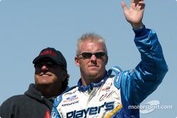 Drivers parade: Paul Tracy