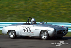 La #190 Mercedes 190SL de 1955, détenue par Doug Radix