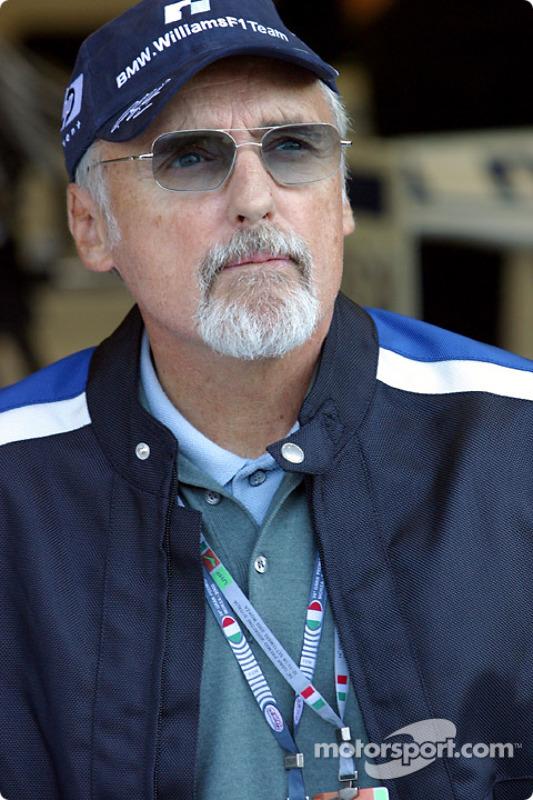 Williams-BMW invitado Dennis Hopper