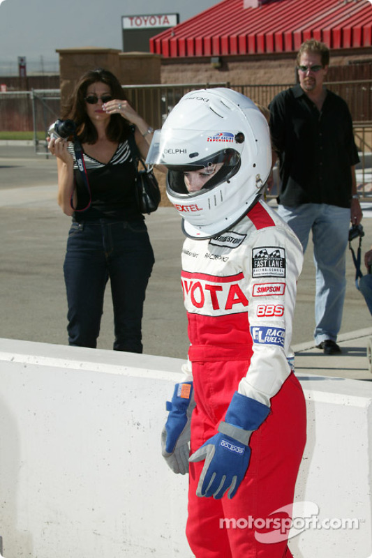Indy Experience, IndyCar biplace : Melissa Hart