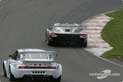 #54 Bell Motorsports Chevrolet Doran: Terry Borcheller, Forest Barber, Andy Pilgrim, and #01 D.L.G.L. Racing Porsche GT3 Cup: Jacques Guénette Sr., Hugo Guénette, Jean-François Dumoulin