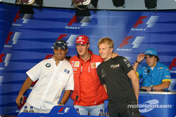 Thursday FIA press conference: Juan Pablo Montoya, Michael Schumacher and Kimi Raikkonen