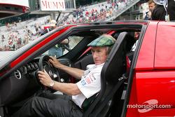 Jackie Stewart con el Ford GT40