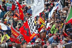 Fans en el Indianapolis Motor Speedway