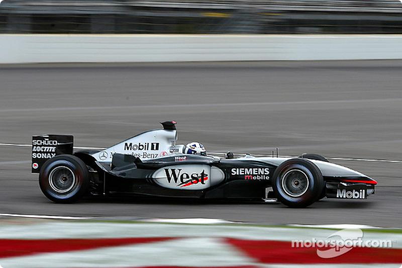 2003: McLaren-Mercedes MP4-17D