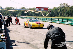 Pitstop for #45 Michael Baughman Racing Firebird: Mike Yeakle, Sam Shanaman, Brett Shanaman