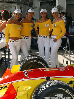 The lovely Cialis girls