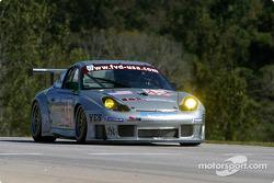 la Porsche 911 GT3RS n°42 de l'équipe Orbit Racing pilotée par Jay Policastro, Joe Policastro